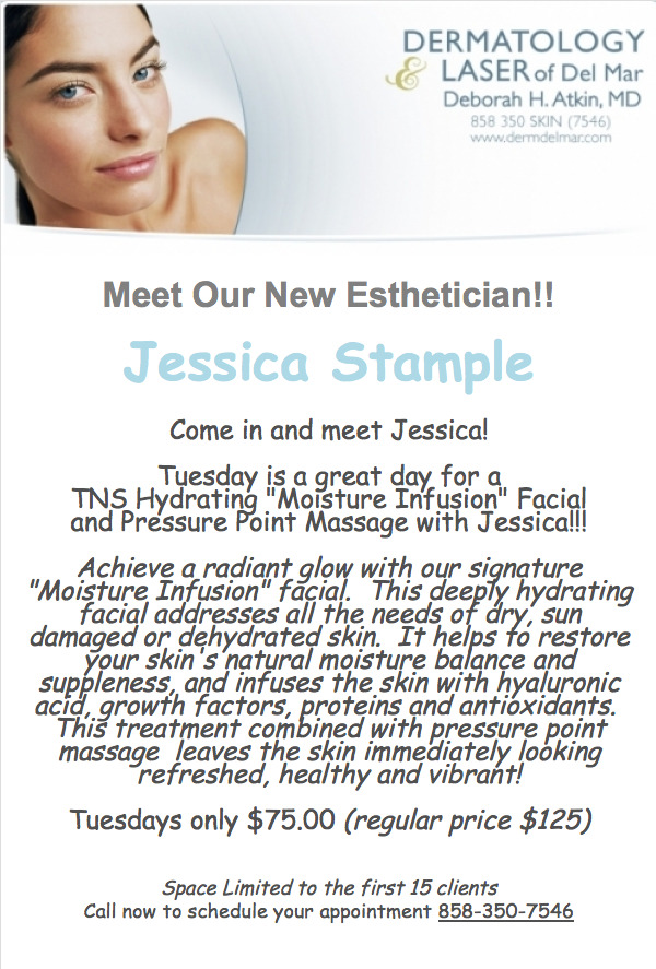 Meet Our New Esthetician